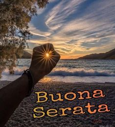 Immagini Belle di Buona Serata per Whatsapp - StatisticaFacile.it Good Night Cards, Good Evening Wishes, Cavalier King Charles, Facebook, Sunset, Movie Posters, Outdoor, Gif, Dolce