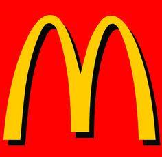 McDonalds logo, colour association.