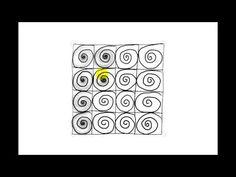 Zentangle Patterns   Tangle Patterns? - Tortuca - YouTube