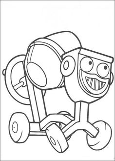 coloring page Bob the Builder - Bob the Builder