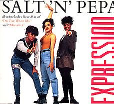 """For Sale - Salt N Pepa Expression UK  CD single (CD5 / 5"""") - See this and 250,000 other rare & vintage vinyl records, singles, LPs & CDs at http://eil.com"""