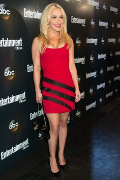 Hayden Panettiere at ABC's Upfront