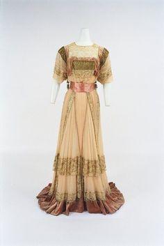 ~Dress, french ca 1908 Callot Soeurs~