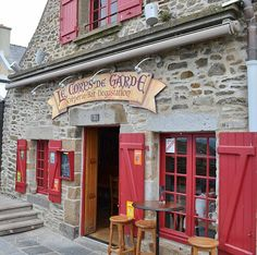 Ate here in Dinan! Best galettes and crepes!