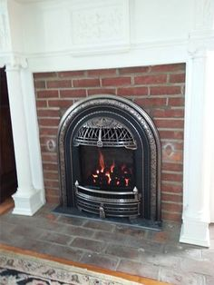 The Windsor Is A Victorian Style Gas Insert Designed To Fit Into Very Small  Fireplaces Like  Small Gas Fireplace Insert