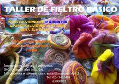 LOS PEQUEÑOS DETALLES: taller de fieltro básico