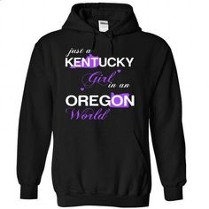 (KYJustTim002) Just A Kentucky Girl In A Oregon World - #tshirt no sew #sweater knitted. GET YOURS => https://www.sunfrog.com/Valentines/-28KYJustTim002-29-Just-A-Kentucky-Girl-In-A-Oregon-World-Black-Hoodie.html?68278
