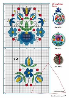 This Pin was discovered by Вик Cross Stitch Borders, Cross Stitch Flowers, Cross Stitch Charts, Cross Stitch Embroidery, Embroidery Patterns, Hand Embroidery, Cross Stitch Patterns, Vintage Cross Stitches, Sewing Art