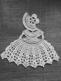 Resultado de imagem para crinoline lady a crochet