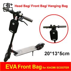 buy xiaomi scooter charger bag front head bag electric scooter portable accessories bag tools hanging #portable #scooters