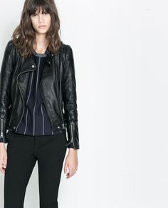 To buy or not to buy!! ZARA - TRF - BIKER JACKET WITH ZIPS