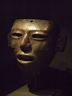 Greenstone Face mask, Teotihuacan Classic period 200-750 AD.