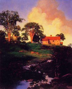 Hunt Farm : Maxfield Parrish