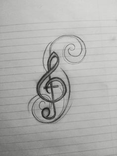 Ideas music design drawing doodles treble clef for 2019 Design My Own Tattoo, Music Tattoo Designs, Music Tattoos, Cute Tattoos, Music Designs, Tatoos, Treble Clef Tattoo, Wallpaper Iphone Neon, Music Drawings
