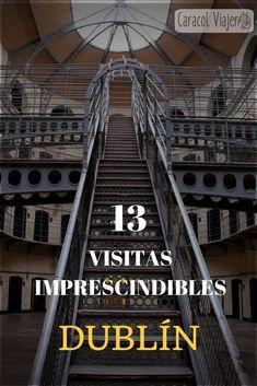 13 Visitas imprescindibles en Dublín, Temple Bar, Gaol, Guinness, juego de tronos... #dublin #viajes #Irlanda #caracolviajero