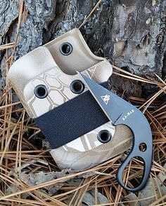 If we can get our hands on it, we can holster it! Strut your stuff with custom holsters, holders, and sheaths. Custom Holsters, Kydex, Everyday Carry, The Struts, Edc, Paracord Ideas, Wallet, Mini, Knives