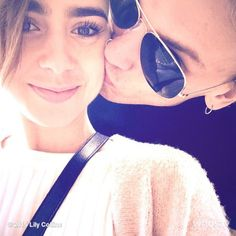 Lily Collins and Jamie Campbell Bower are back together - Life works in mysterious ways but when you find your inner glow is back and shining brighter, you know it's right.