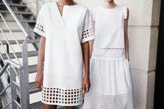 Beautiful White Pieces// Zara 2014
