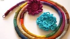 crochet headband - YouTube