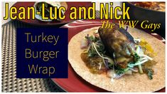A new take on an old classic. Turkey burger in a wrap stuffed with cheese! Maple Bacon, Turkey Burgers, Roasted Garlic, Ground Turkey, Warriors, Sandwiches, Wraps, Wellness, Beef