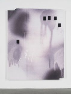 Jeff Elrod Untitled, 2016 UV ink on canvas