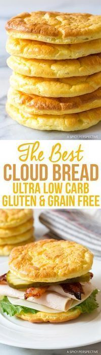 You've got to try this! The Best Cloud Bread Recipe