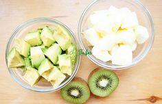 Smoothie de Avocado, Măr și Kiwi Kiwi, Honeydew, Avocado, Fruit, Food, Lawyer, Essen, Meals, Yemek