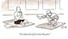 Free time = yoga time!