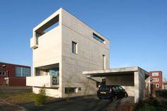 Woonhuis Almelo | Van der Jeugd Architecten Betonnen huis | concrete house | Architecture | Architectuur