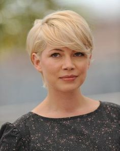 Short hair - Michelle Williams