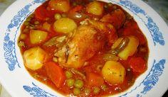 Пиле със зеленчуци в гювеч - Рецепта. Как да приготвим Пиле със зеленчуци в гювеч. Кликни тук, за да видиш пълната рецепта.