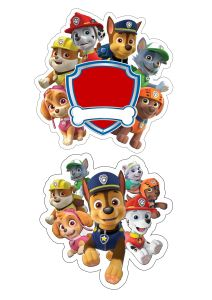 Paw Patrol Cupcakes, Paw Patrol Party, Paw Patrol Birthday, Disney Cars Birthday, 4th Birthday, Imprimibles Paw Patrol, Paw Patrol Stickers, Cake Wallpaper, Paw Patrol Coloring