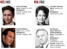 actors on the left that played roll of lorraine and ed warren in the conjuring.