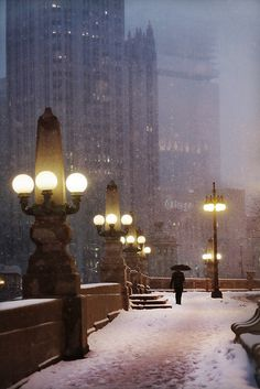 Chicago by Christophe Jacrot.Chicago is such a beautiful city! Chicago City, Chicago Illinois, Chicago Snow, Chicago Winter, Chicago Usa, Chicago Night, Chicago Photos, Chicago Travel, Chicago Skyline