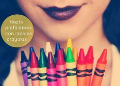 diy pinta labios con crayons-crayolas