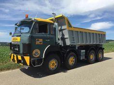 Heavy Duty Trucks, Dump Truck, Vehicles, Track, Europe, Vintage, Classic, Bern, Trucks