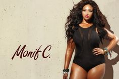 MONIF C's  AQUATIC GODDESS 2013: http://www.stylishdressing.com/aquatic-goddess-monif-cs-plus-size-swim-wear-spring-2013/