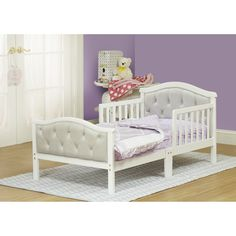 Orbelle Trading The Orbelle Convertible Toddler Bed, $244.99