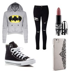 """""""INVIERNO- CASUAL"""" by aylemmaramista on Polyvore featuring Converse, Miss Selfridge, MAC Cosmetics, Nanette Lepore, men's fashion and menswear"""