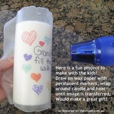 This is a great way to show your mother (or anyone in general) how much they mean to you!!