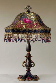 Викторианской Абажур .. потрясающий!