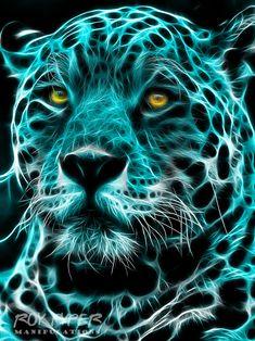 Areas the Jaguar: Fractalius Redux by nerdboy69.deviantart.com on @DeviantArt