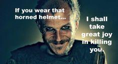 Because real vikings did NOT wear horned helmets. Real Vikings, Norse Vikings, For Honor Viking, Viking Tribes, Gustaf Skarsgard, Viking Quotes, Viking Culture, Floki, Popular Tv Series