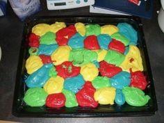 Das perfekte Papageienkuchen super für jede Kindergeburtstagsfeier-Rezept mit Bild und einfacher Schritt-für-Schritt-Anleitung: Margarine, Zucker und Eier…