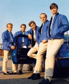 The Beach Boys - Shut Down: From left to right; Al Jardine, Carl Wilson, Dennis Wilson, Mike Love, and Brian Wilson.