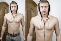 Una camperita que imita la piel humana...¿es un poco impresionante, no?. Foto:bemlegaus.com