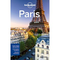 Livro - Lonely Planet: Paris