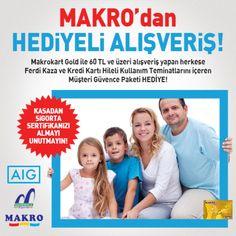 AIG Sigorta-Makro Market Kampanya