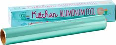 Rice's mantra is: Fun, funky, functional and that really shows when you look at this Rice Aluminum Foil in Mint. Nobody says, aluminum foil should. Duck Egg Blue Kitchen Accessories, Mantra, Rice, Canning, How To Make, Fun, Home Canning, Conservation, Funny