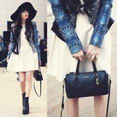 Style Equation: Dress + Floppy Hat